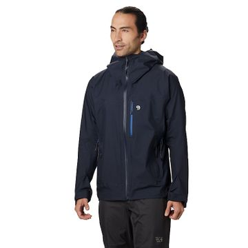 Mountain Hardwear Mens Exposure/2 GTX 3L Active Jacket Dark Zinc