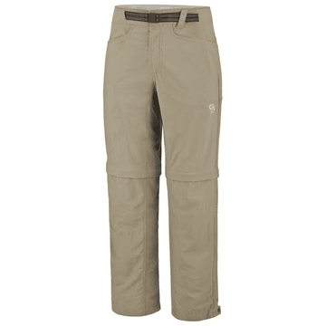Mountain Hardwear Mens Mesa Convertible Pant Khaki (close out)