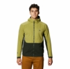 Mountain Hardwear Mens Mtn. Tech/2 Hoody Fatigue Green