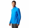 Mountain Hardwear Mens Photon Zip T Altitude Blue (close out)