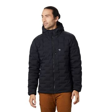 Mountain Hardwear Mens Super/DS Stretchdown Hooded Jacket Black