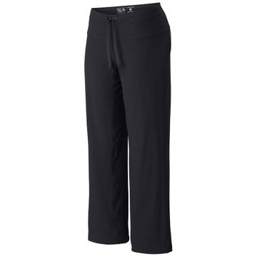 Mountain Hardwear Womens Yumalina Pant Short Inseam Black/ Graphite