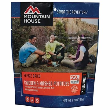 Mountain House Chicken Breast with Mashed Potatoes- Serves 2
