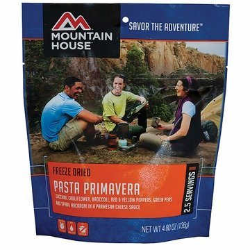 Mountain House Pasta Primavera (Vegetarian)- Serves 2