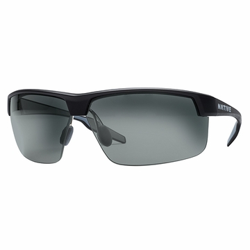 Native Hardtop Ultra XP Matte Black Polarized N3 Gray
