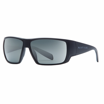 Native Sightcaster Matte Black Polarized N3 Gray