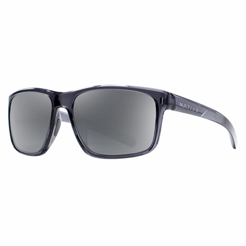 Native Wells Dark Crystal Gray Polarized N3 Silver
