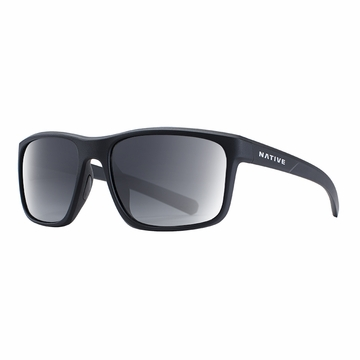 Native Wells Matte Black Crystal Polarized N3 Gray