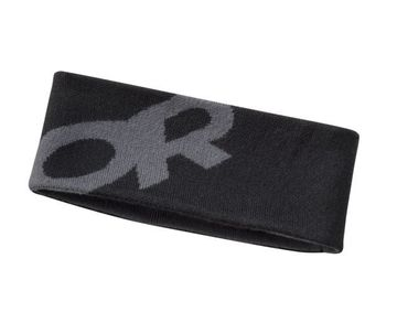 Outdoor Research Booster Headband Black/ Charcoal