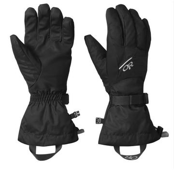 Outdoor Research Mens Adrenaline Gloves Black