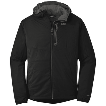 Outdoor Research Mens Ascendant Hoody Black/ Pewter (Close Out)