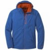 Outdoor Research Mens Ascendant Hoody Cobalt/ Burnt Orange (Close Out)