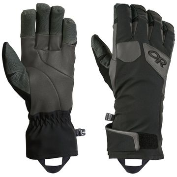 Outdoor Research Mens Extravert Gloves Black/ Charcoal