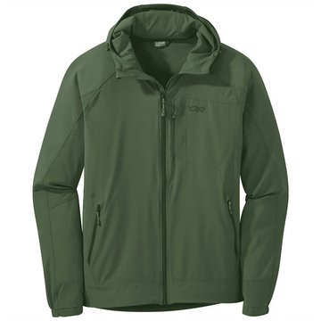 Outdoor Research Mens Ferrosi Hoodie Emerald (Close Out)