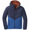 Outdoor Research Mens Illuminate Down Hoodie Naval Blue/ Cobalt (Close Out)