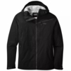 Outdoor Research Mens Interstellar AscentShell Jacket Black/ Charcoal (Close Out)