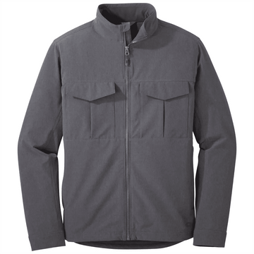 Outdoor Research Mens Prologue Field Jacket Charcoal Heather (Close Out)
