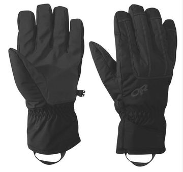 Outdoor Research Mens Riot Gloves Black