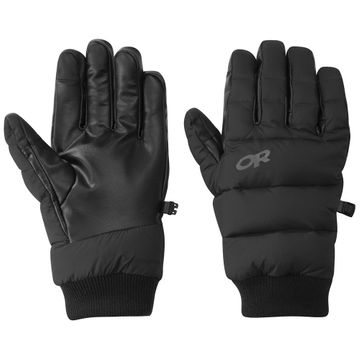 Outdoor Research Transcendent Down Gloves Black