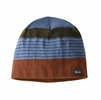 Patagonia Beanie Hat Fitz Roy Stripe: Sisu Brown
