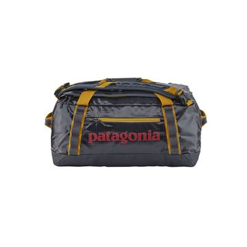 Patagonia Black Hole Duffel 40L Smolder Blue w/ Buckwheat Gold