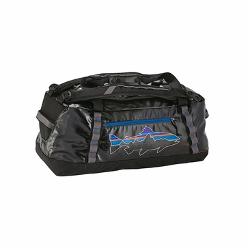 Patagonia Black Hole Duffel 60L Black w/ Fitz Trout