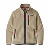 Patagonia Boys Retro Pile Jacket El Cap Khaki (Close Out)