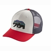 Patagonia Fitz Roy Bear Trucker Hat White (Close Out)