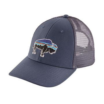 Patagonia Fitz Roy Bison LoPro Trucker Hat Dolomite Blue (Close Out)
