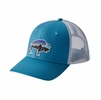 Patagonia Fitz Roy Bison Trucket Hat Lumi Blue