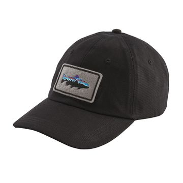 Patagonia Fitz Roy Trout Patch Trad Cap Black (Close Out)