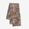 Patagonia Fjord Flannel Patchwork Scarf Cabin Time: Furry Taupe (Close Out)