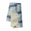 Patagonia Fjord Flannel Patchwork Scarf Upriver: Woolly Blue (Close Out)