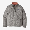 Patagonia Girls Diamond Quilt Jacket Drifter Grey (Close Out)