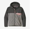 Patagonia Girls Micro D Snap-T Jacket Feather Grey (Close Out)
