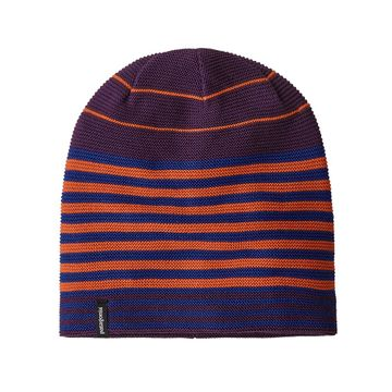 Patagonia Glade Beanie Fitz Roy Stripe Link: Deep Plum (Close Out)