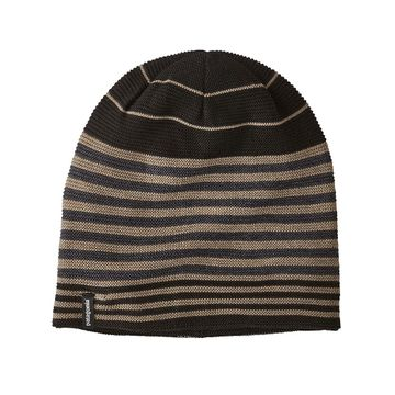 Patagonia Glade Beanie Fitzroy Stripe Link: Black (Close Out)