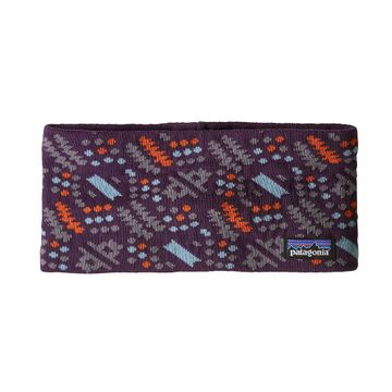 Patagonia Lined Knit Headband Icefall Band: Deep Plum (Close Out)