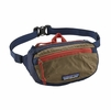 Patagonia LW Travel Mini Hip Pack Classic Navy w/ Mojave Khaki