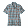 Patagonia Mens A/C Buttondown Shirt Arthur: Dam Blue