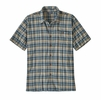 Patagonia Mens A/C Buttondown Shirt Fallow: Stone Blue