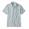 Patagonia Mens A/C Buttondown Shirt Perch: Dam Blue