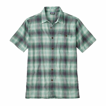 Patagonia Mens A/C Shirt Costa: Beryl Green