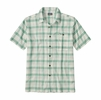 Patagonia Mens A/C Shirt Maker Small: Beryl Green