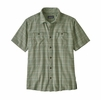 Patagonia Mens Back Step Shirt Harvester: Ellwood Green (Close Out)