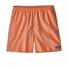 Patagonia Mens Baggies Shorts 5in Peach Sherbet