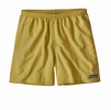 Patagonia Mens Baggies Shorts 5in Surfboard Yellow