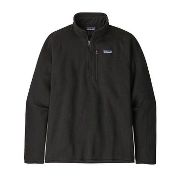 Patagonia Mens Better Sweater 1/4 Zip Black