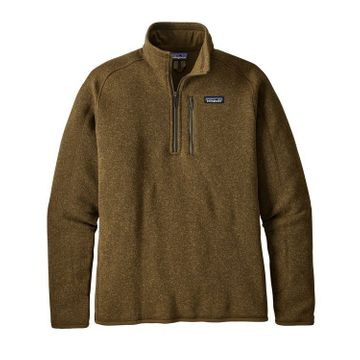 Patagonia Mens Better Sweater 1/4 Zip Fleece Sediment