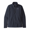 Patagonia Mens Better Sweater 1/4 Zip New Navy